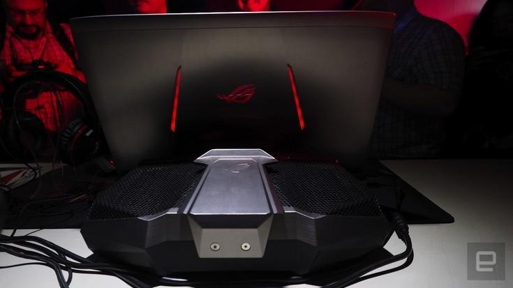 Игровой ноутбук Asus ROG GX800 получит жидкостную СО и две видеокарты Nvidia