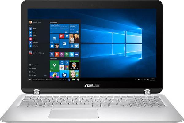 Ноутбук-трансформер Asus Zenbook Flip UX560 (UX560UA) оснащен петлями необычной формы