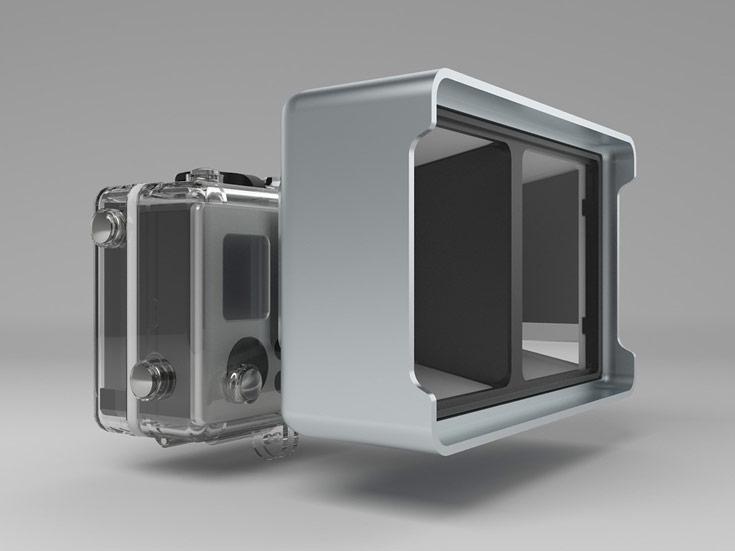 Насадка Vitrima наделяет камеры GoPro возможностью снимать стереоскопическое видео