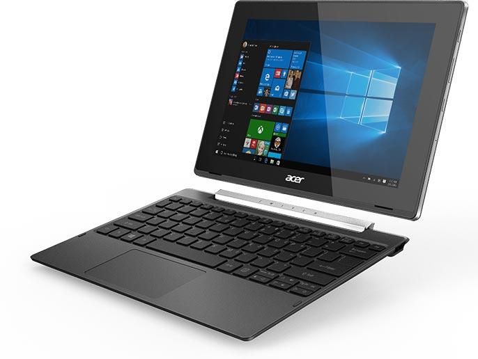Гибридный компьютер Acer Switch V 10 оснащен портом USB-C