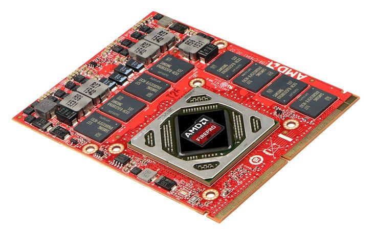 3D-карта AMD FirePro S7100X с аппаратной виртуализацией предназначена для blade-серверов