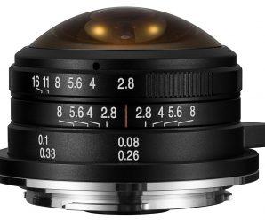 Начались продажи объектива Laowa 4mm f/2.8 в вариантах с креплениями Sony E, Fuji X и Canon EF-M