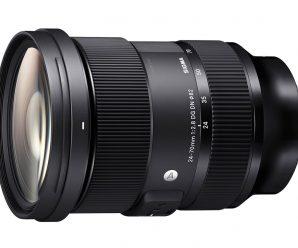 Обновление прошивки делает объектив Sigma 24-70mm F2.8 DG DN Art с креплением Sony E более подходящим для съемки видео