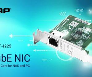 Qnap выпускает карту расширения PCIe с одним портом 2.5GbE