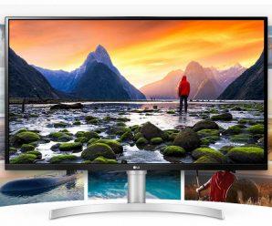 Большой монитор для любителей классики. LG 32UN650-W оснащён плоской панелью 4K UHD