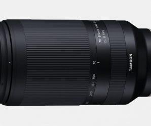 Пресс-релиз, посвященный выпуску объектива Tamron 70-300mm f / 4.5 -6.3 Di III RXD (Model A047), оказался в сети накануне анонса